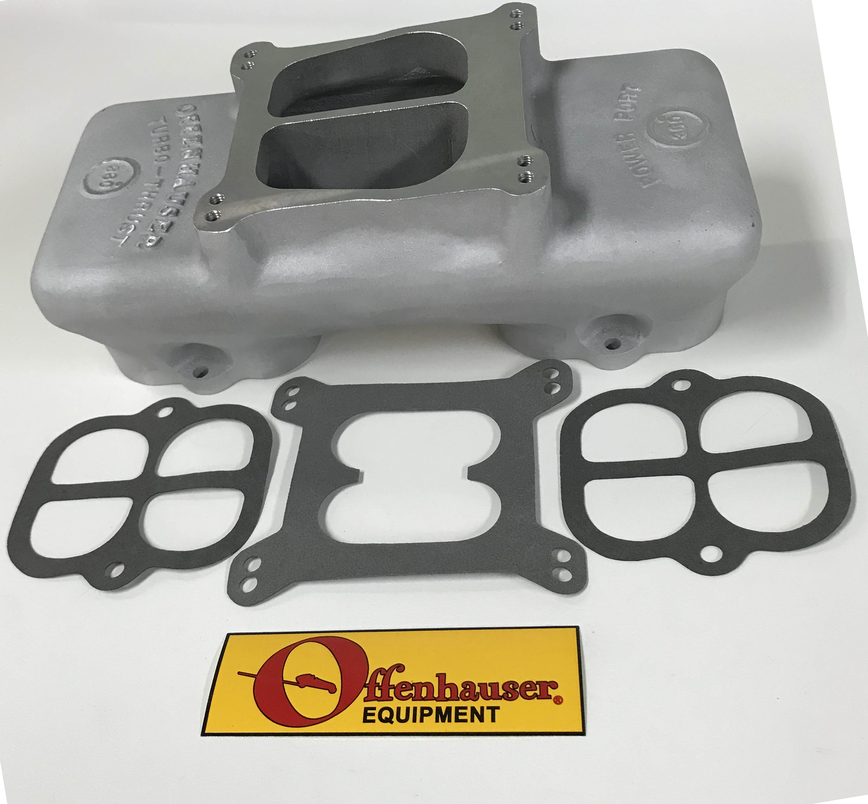 Offenhauser Ford 289-302 Single Quad Top Competition Manifold