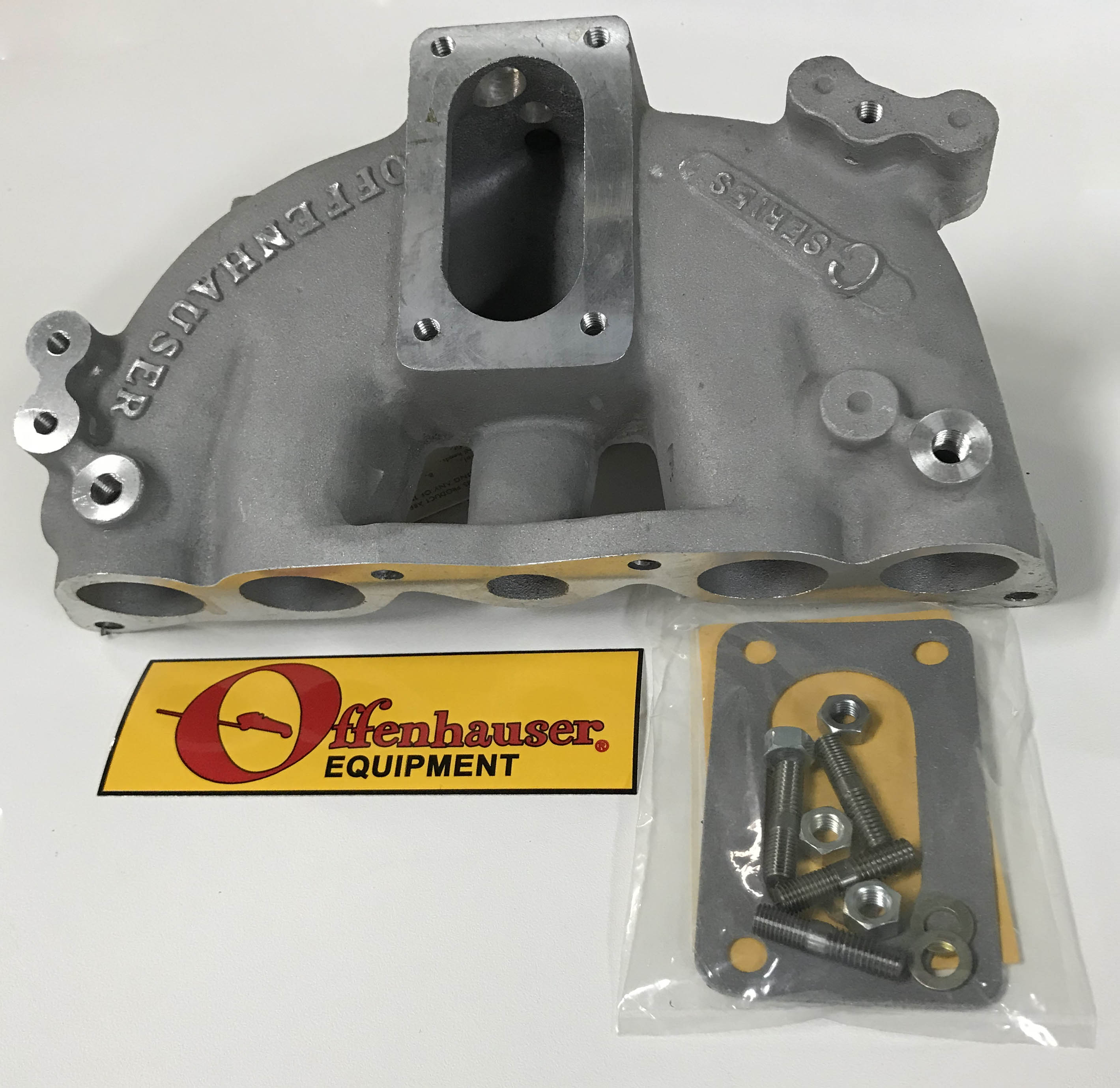 Offenhauser Ford Courier/ Mazda 1800cc Manifold 1972 and later