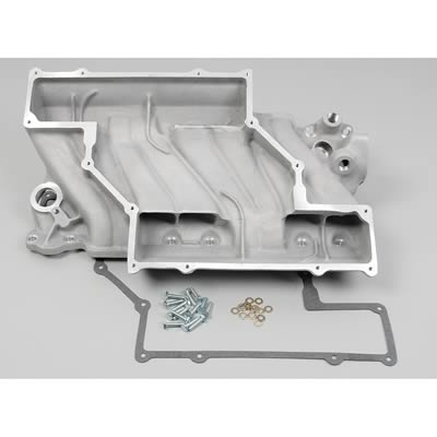 Offenhauser 5893 Chevrolet 327-350-400 Low Profile RAM Intake Manifold Convertible Base