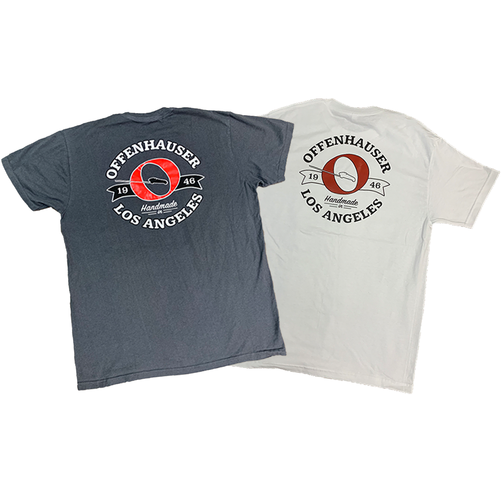BOth White & Grey Offenhauser Shirts