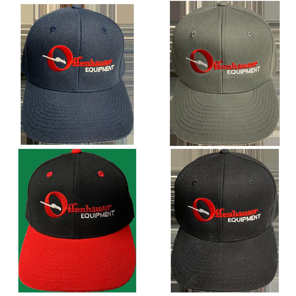 4 styles of Offenhauser Velcro Hats