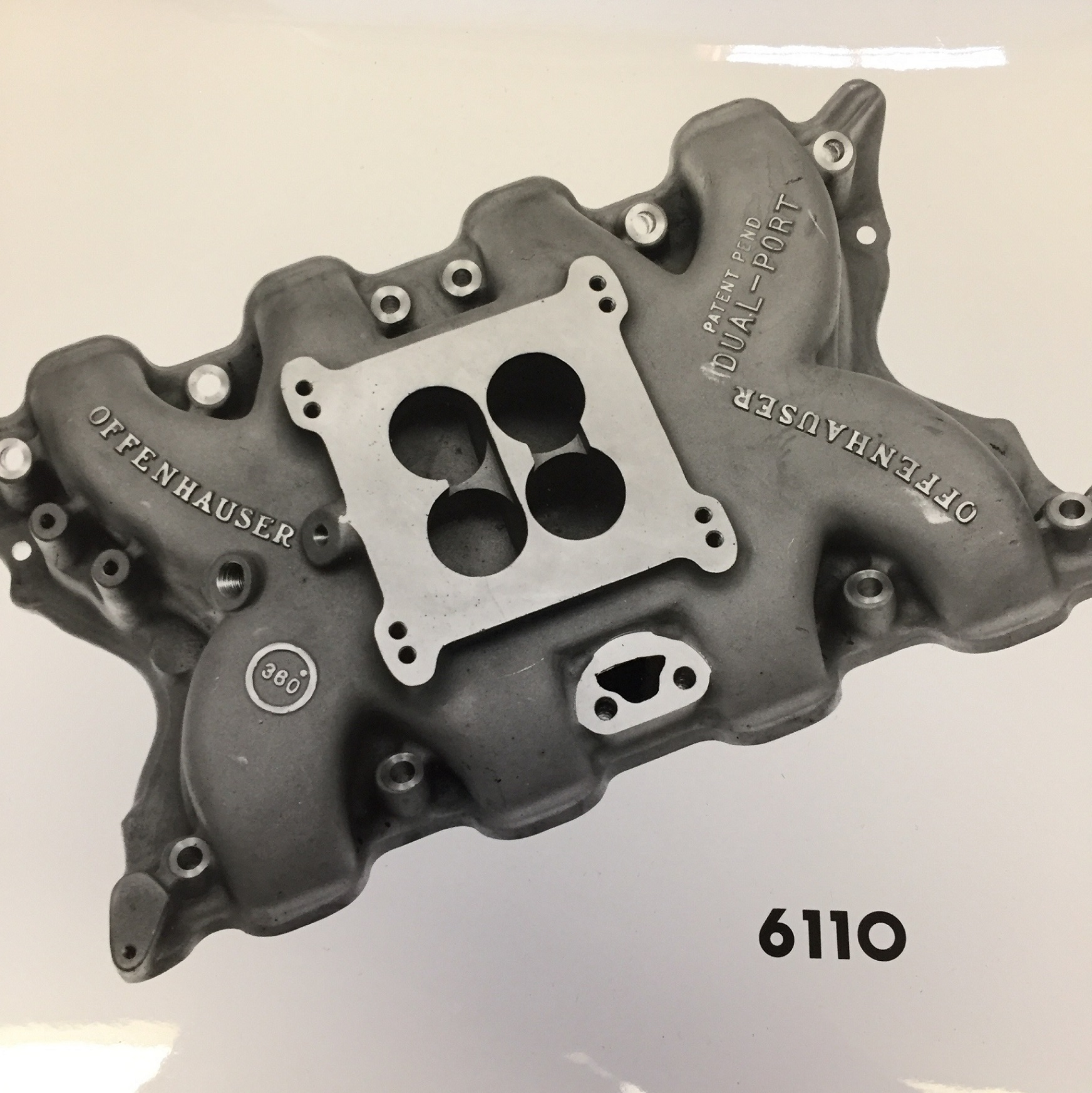 Offenhauser #6110 DP Ford 351 Cleveland 2V Intake Manifold