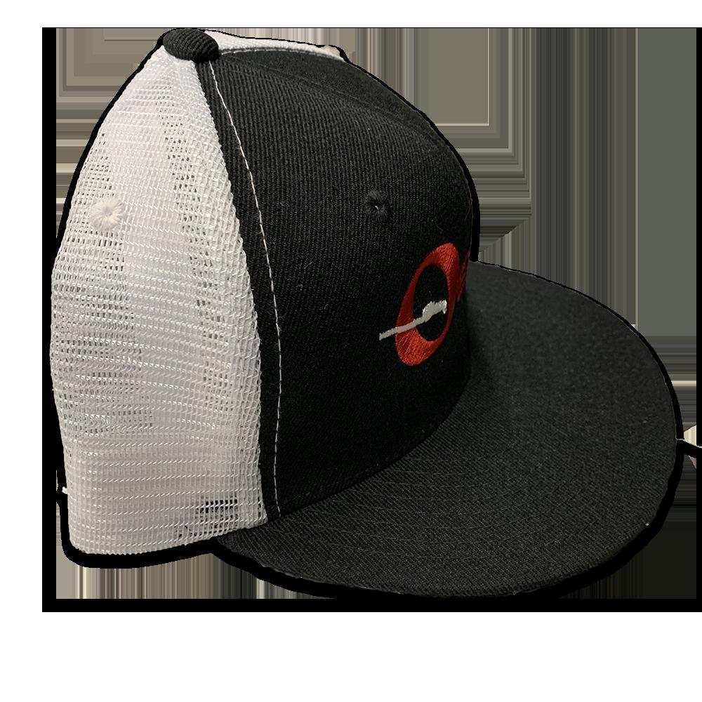 411d76cb Offenhauser #9026 Official Logo Trucker Hat – White Owl Speed Equipment